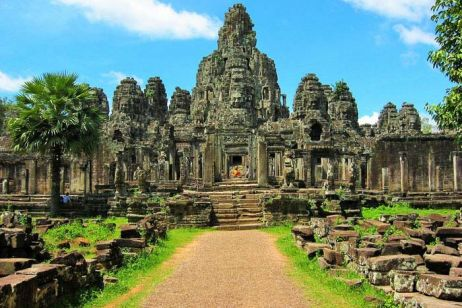 Angkor Thom, the final capital city of Khmer
