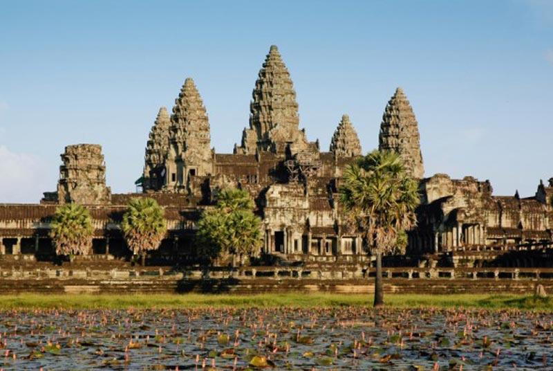 Angkor Wat in Seam Reap