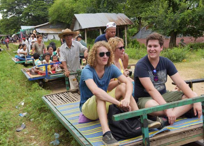 Bamboo Train Ride