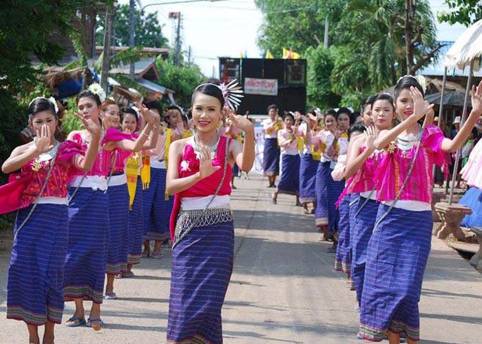 Bunpimay Festival in Laos