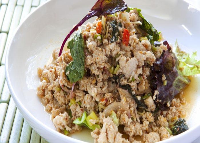 Larb (meat salad)
