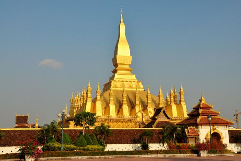Pha That Luong in Vientiane