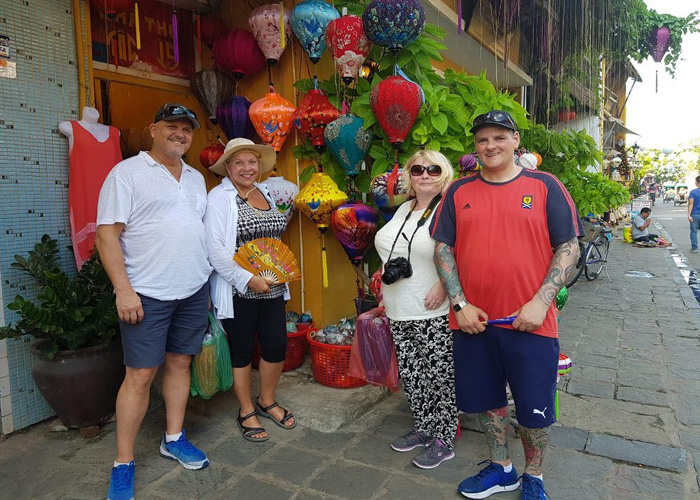 Wearing normal clothes in Hoi An