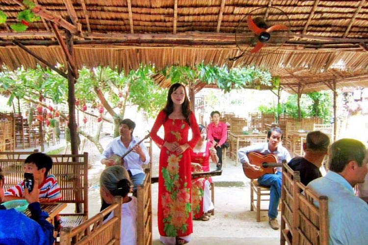 Enjoying Folk Music in Mekong Delta
