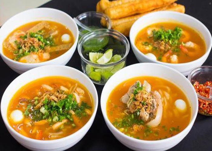 Foods in Da Nang