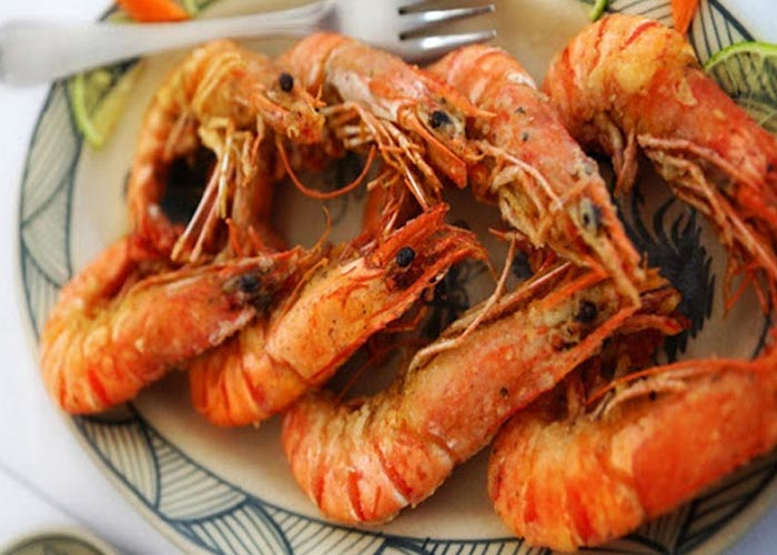 Seafoods in Halong