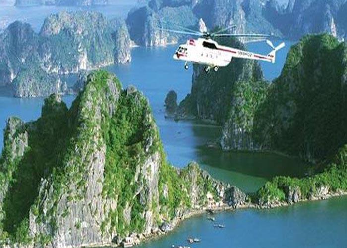 Helicopter Hanoi - Halong Bay