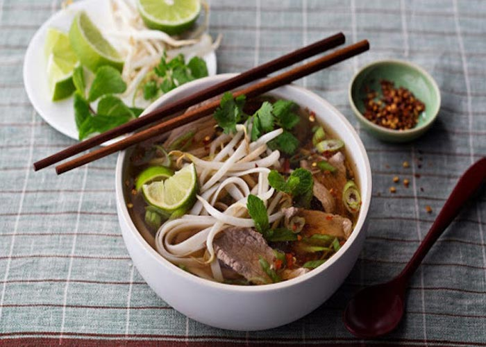 Noodle (Pho) in hanoi