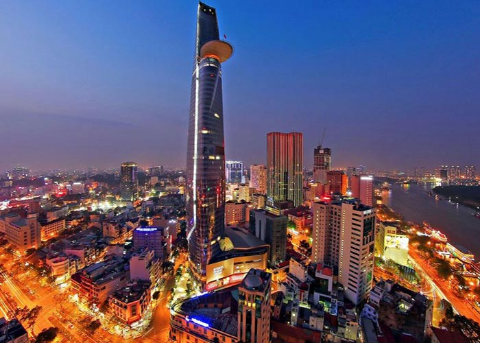 Bitexco Financial Tower in Ho Chi Minh