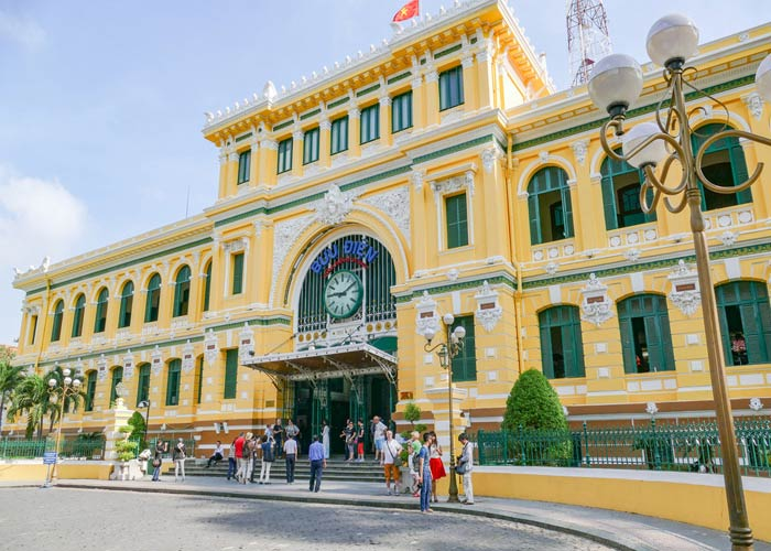 Central Post Office in Ho Chi Minh