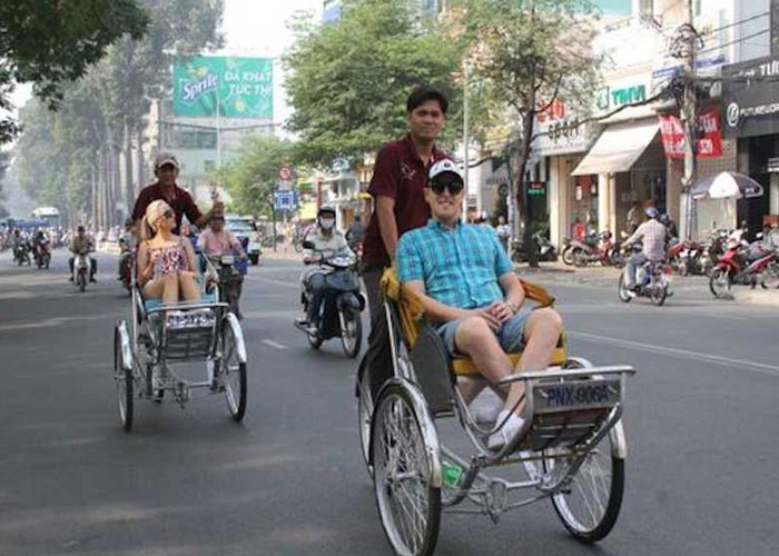 Take a Cyclo Ride in Ho Chi Minh