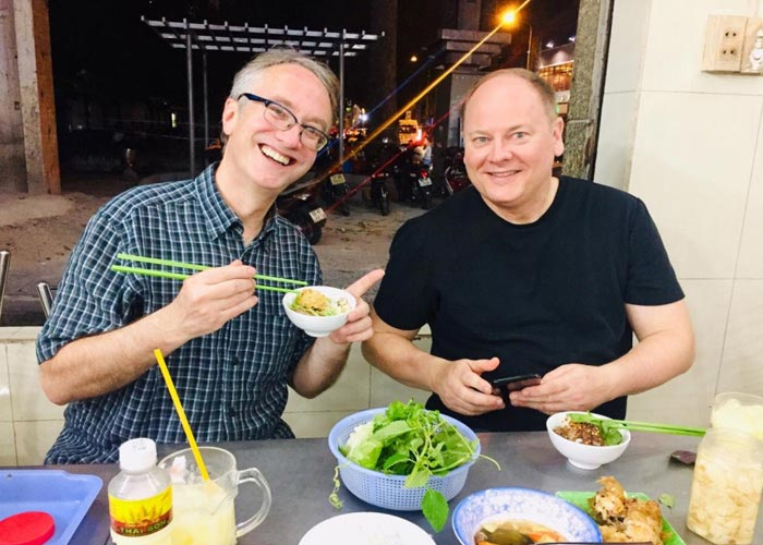 Street foods in Ho Chi Minh city
