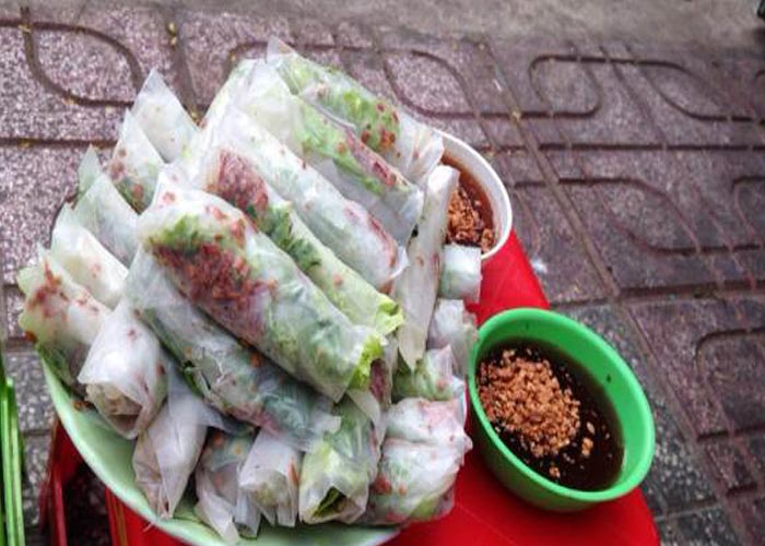 Street Foods in Saigon