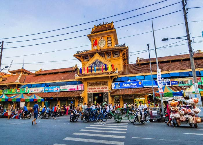 Binh Tay market in Saigon