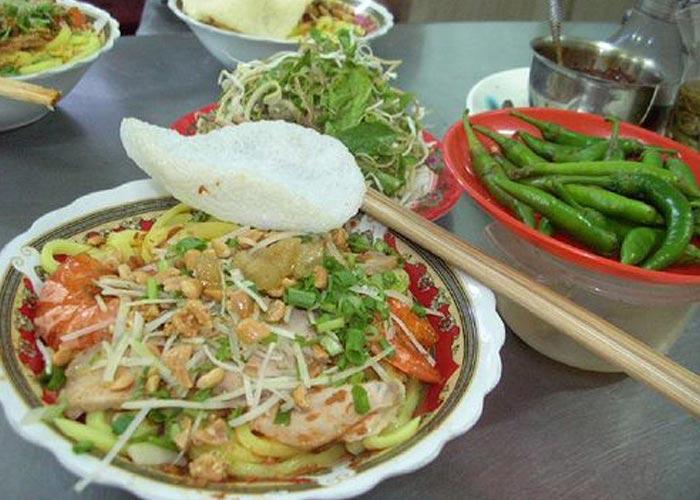 Quang noodle (My Quang)