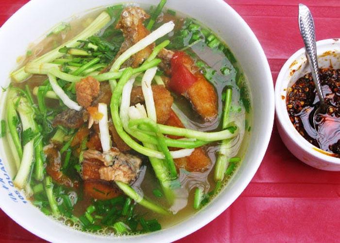 Bun Ca in Mekong Delta