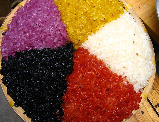 Five Coloured Rice